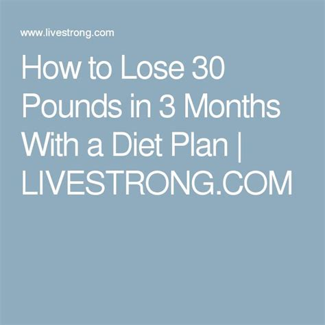 Banks Loses 30 Pounds In Five Months by Best 25 Lose 30 Pounds Ideas On How To Stay