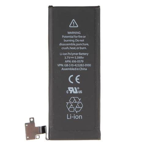 Battery Hippo Iphone 4s Original 1430 Mah oem original grade iphone 4s battery 1430 mah johor