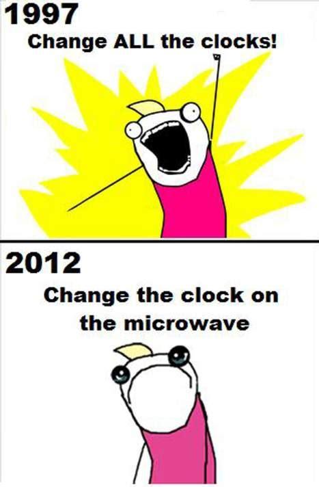 Time Change Meme