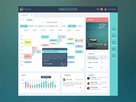 managing ui pattern collections dribbble task app full png by ludmila shevchenko