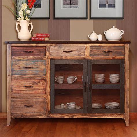 International Furniture Direct 900 Antique Ifd963buffet Mc Furniture Buffets