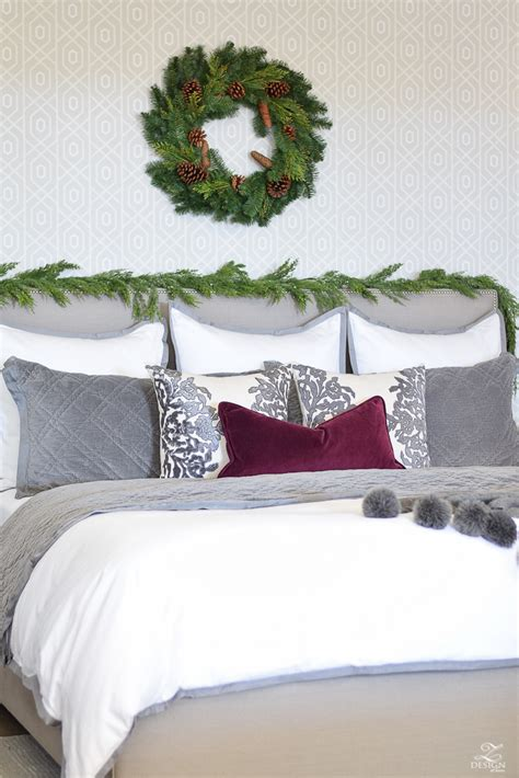 bedroom christmas tree decked styled holiday tour a christmas bedroom