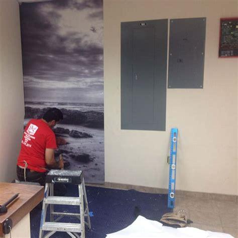 wall mural installation photo mural installation d l wallpaper installation designs
