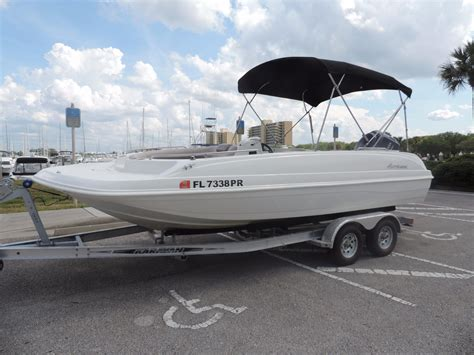 2014 used hurricane ss 201 ob deck boat for sale 21 000 - Hurricane Boats Orlando