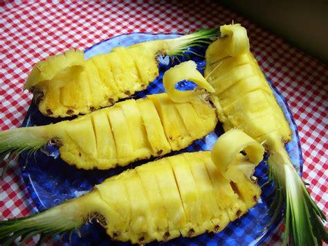 come presentare l ananas a tavola ananas archives le ricette di nicola