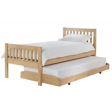 bed with pull out bed pull out bed frame selections homesfeed