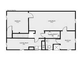 floor plans for basements basement floor plan flip flop stairs and furnace room