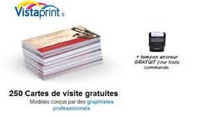 vos cartes de visite gratuites sur vistaprint