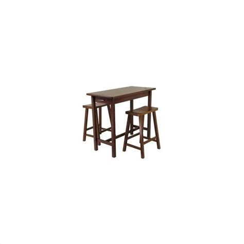 kitchen island dining set 3 kitchen island dining set antique walnut 94344