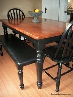 refinish kitchen table top best 25 refinished dining tables ideas on
