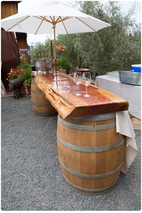 wine barrel bar table wine barrel furniture ideas you can diy or buy 135 photos