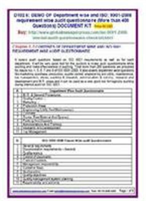 As9100 Audit Checklist by As9100 Audit Checklist