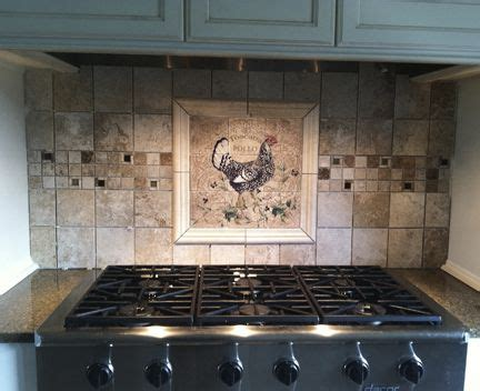rooster backsplash pin by tapp on kitchen backsplash