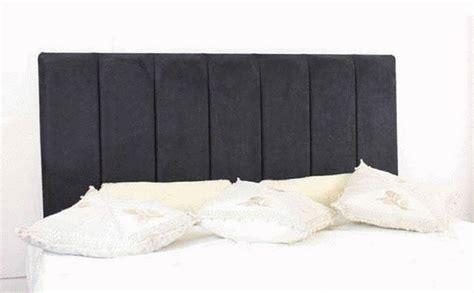 black suede headboard durham faux suede headboard