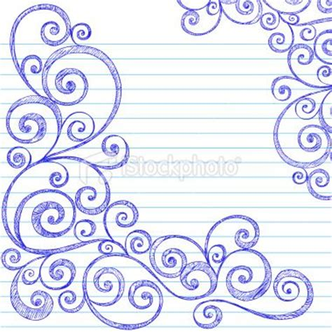 how to draw doodle swirls swirls doodles and notebook doodles on