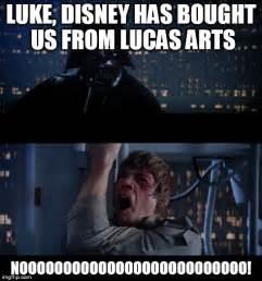 Disney Star Wars Meme - star wars no meme imgflip