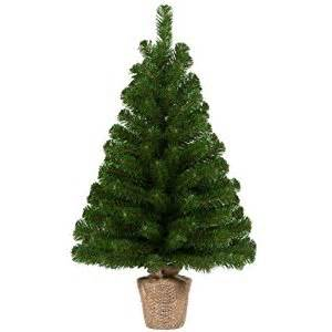 60cm 2ft table tree burlap artificial christmas tree