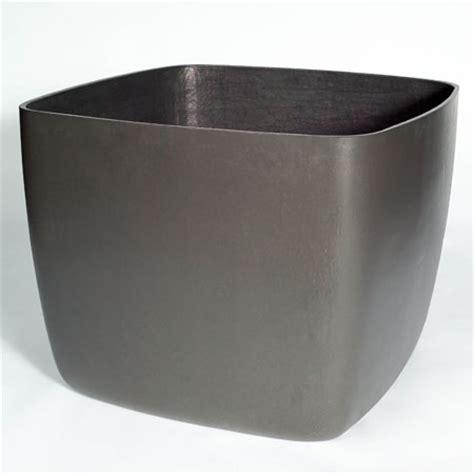 large square planters osaka large square garden planter plant pot with rounded corners nova68 modern design