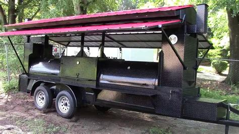 used boat trailers atlanta ga mega t rex pro w roof competition bbq smoker grill