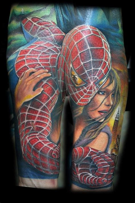 spiderman tattoo picture at checkoutmyink com