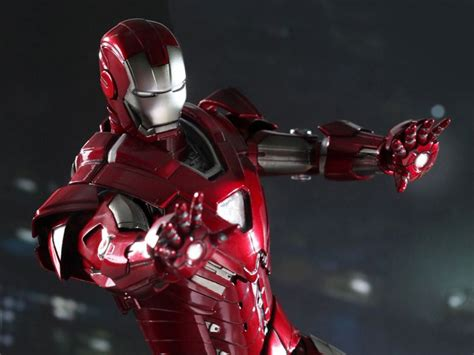 Ironman Silver Centurion Misb iron 3 mms213 silver centurion xxxiii 1 6th scale collectible figure