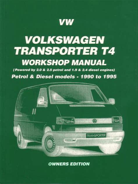 Eurovan Shop Manual Service Repair Volkswagen Book Vw