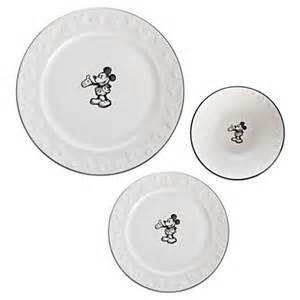 mouse dinner plate set kitchen essentials disney