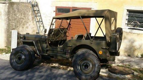 1945 willys jeep parts 1945 jeep willys original ww ii vehiecle na prodej