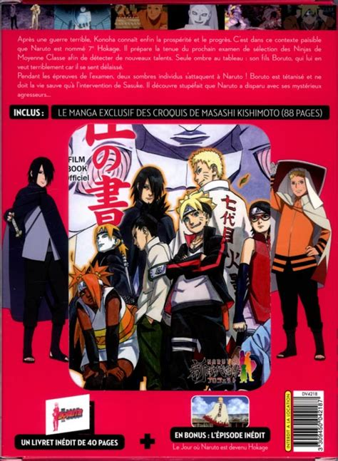 film boruto bluray boruto naruto le film 201 dition collector bdnet com