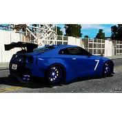 Nissan GT R R35 Liberty Walk For GTA 4