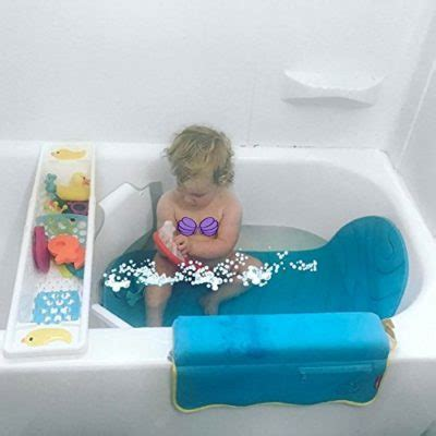 bathtub divider for baby the babydam makes bathing your baby so much easier