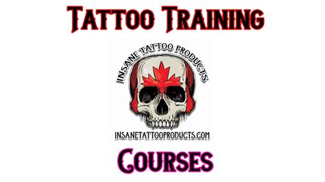 online tattoo training courses tattoo training courses insane tattoo products youtube