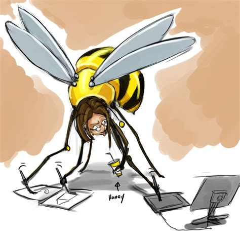 Busy Bee by Busy Bee Doodlescribbles