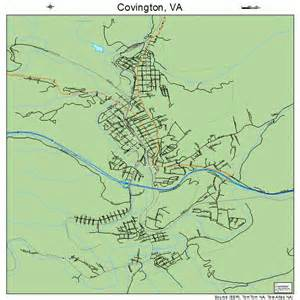 covington map covington virginia map 5119728