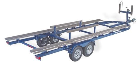 pontoon boat trailer specifications yacht club standard pontoon trailers
