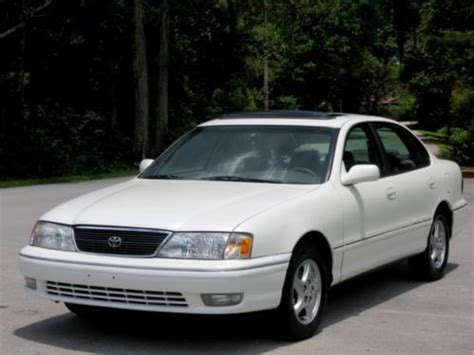 98 Toyota Avalon Find Used 1 Family Owned 98 Toyota Avalon Xls