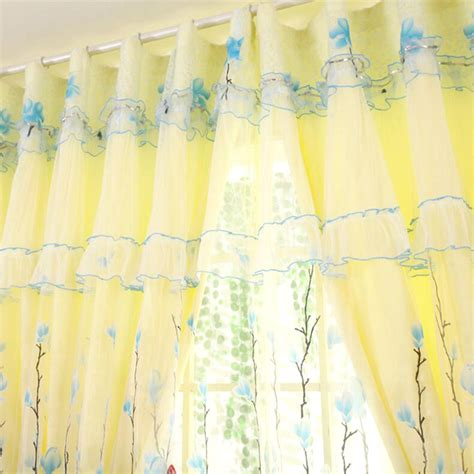yellow sheers curtains beautiful yellow color curtain with transparent sheer curtain