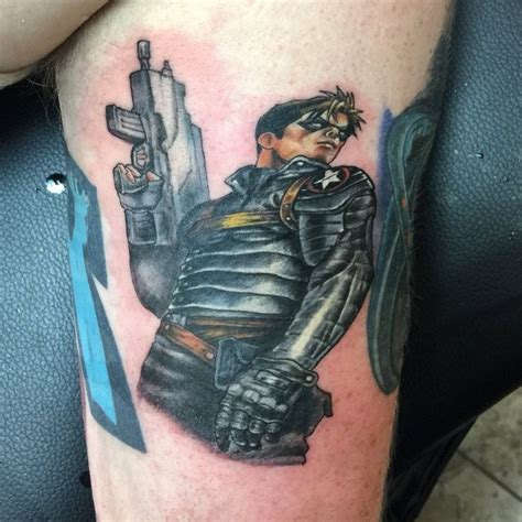 winter soldier tattoo best 20 captain america ideas on