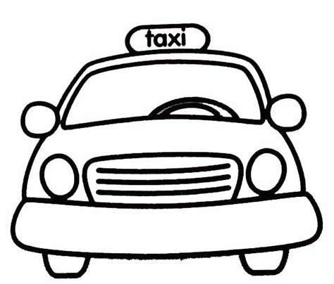 Coloriage Taxi De New York Dessin De Bus Anglais A Imprimer L