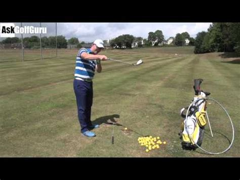 swing the handle golf stop over swinging the golf club how to make do