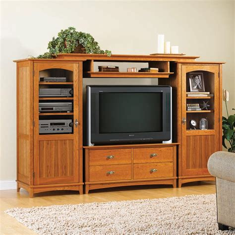 entertainment center woodworking plans entertainment center set woodworking plan from wood magazine