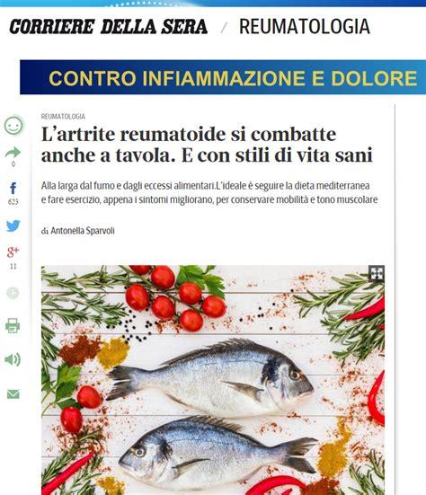 artrite reumatoide alimentazione l artrite reumatoide si combatte anche a tavola e con