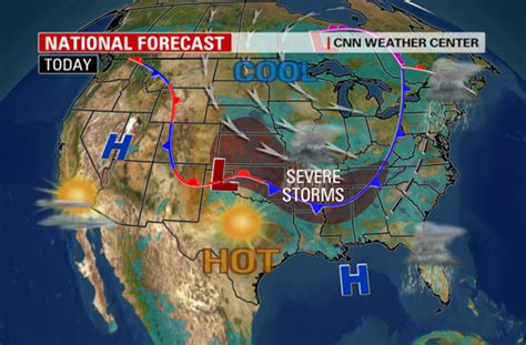 national weather map usa today weather cnn newsroom cnn blogs