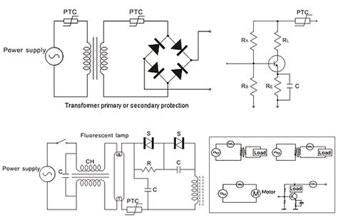 ptc thermistor motor protection ptc thermistors transformer meter circuit current protect fuse amwei