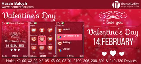 nokia themes valentines day valentine s day themes for nokia series 40 devices
