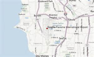 Seattle Tacoma Map by Seattle Tacoma International Airport Location Guide