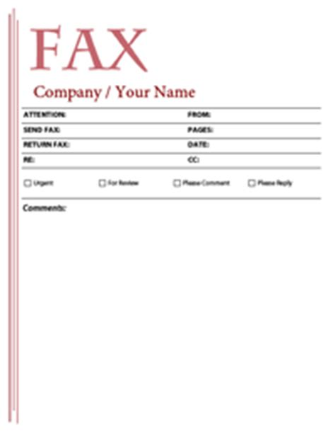 Free Fax Cover Sheet Templates Free Fax Cover Sheet Template Microsoft