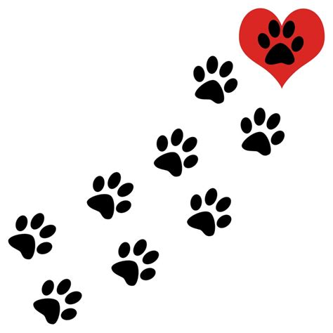 paw print clip cat paw print clip cliparts co