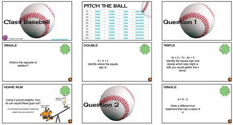 game templates for google slides google slides class baseball game review game teacher tech