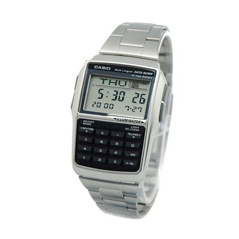 Jam Tangan Calculator jual casio dbc 32d 1a multi lingual databank calculator